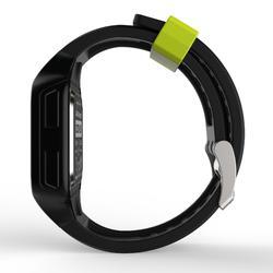 Reloj cronómetro de running hombre W500+M negro amarillo