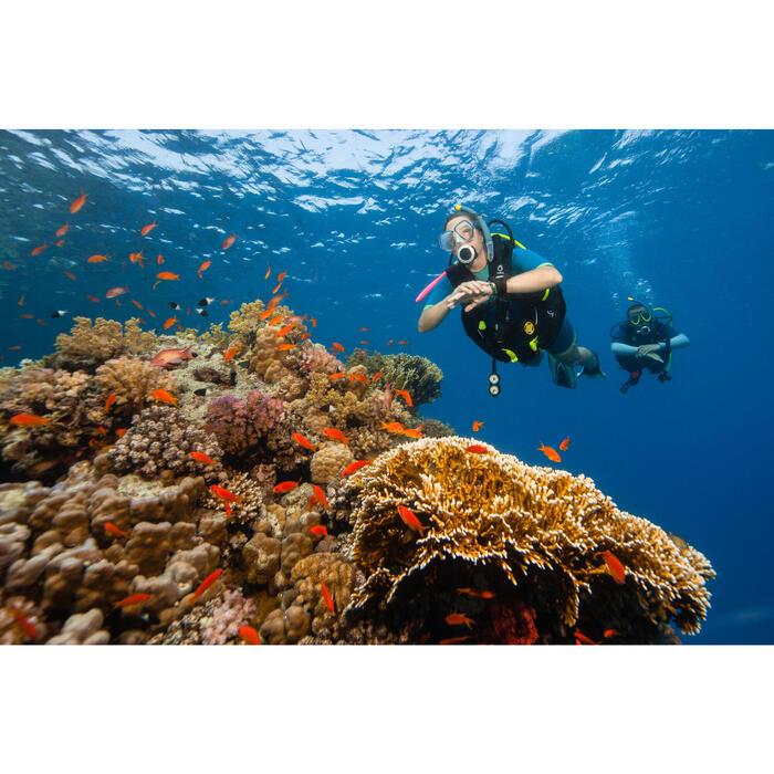 Gilet stabilisateur de plongée sous-marine enveloppant  SCD 500 N - 1275100