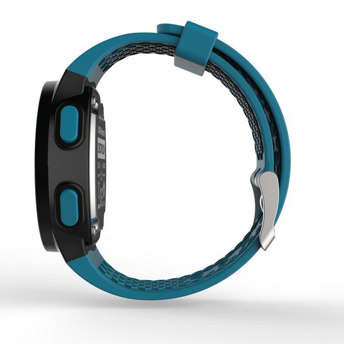 Montre chronomètre de course à pied homme W500 M noire reverse - 1275121