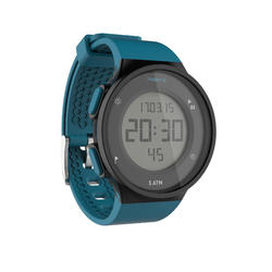 W500 M Running Stopwatch - Black and Green