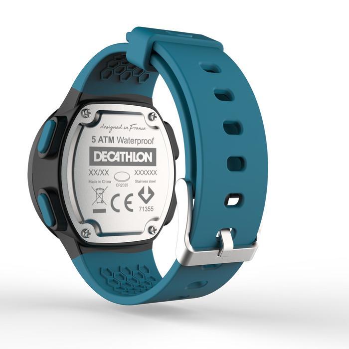 Montre chronomètre de course à pied homme W500 M noire reverse - 1275134