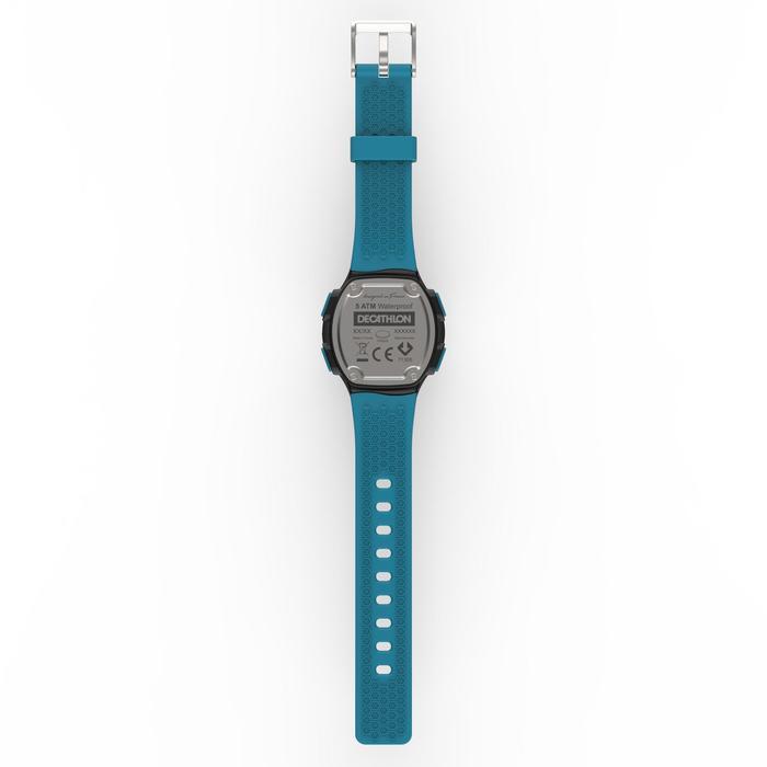 Montre chronomètre de course à pied homme W500 M noire reverse - 1275142