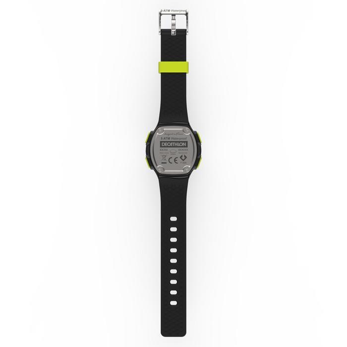 Montre chronomètre de course à pied homme W500 M noire reverse - 1275147