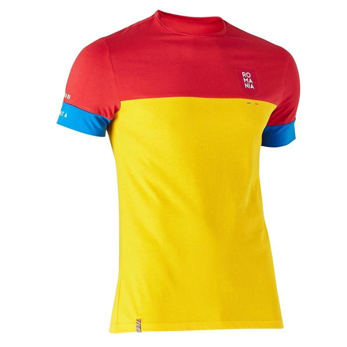 T-shirt de football adulte FF100 Roumanie