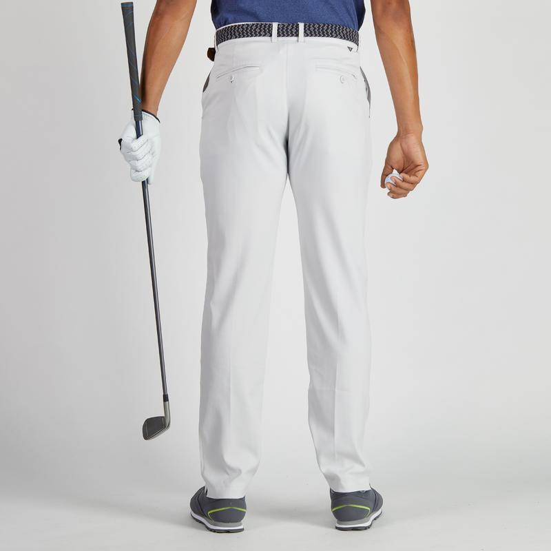 pantalon de golf homme 900 temps chaud gris clair decathlon guadeloupe. Black Bedroom Furniture Sets. Home Design Ideas