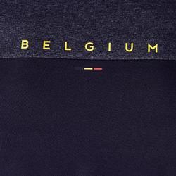 Camiseta de Fútbol adulto Kipsta FF100 Bélgica negro
