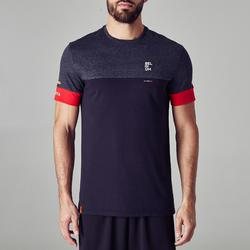 T-shirt de football adulte FF100 Belgique noir