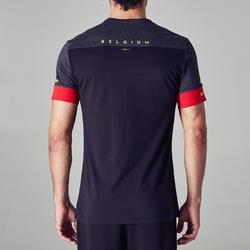 Fußballtrikot Erwachsene FF100 Belgien schwarz