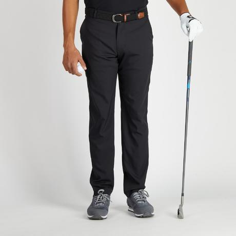 pantalon de golf homme 900 temps chaud noir inesis golf. Black Bedroom Furniture Sets. Home Design Ideas