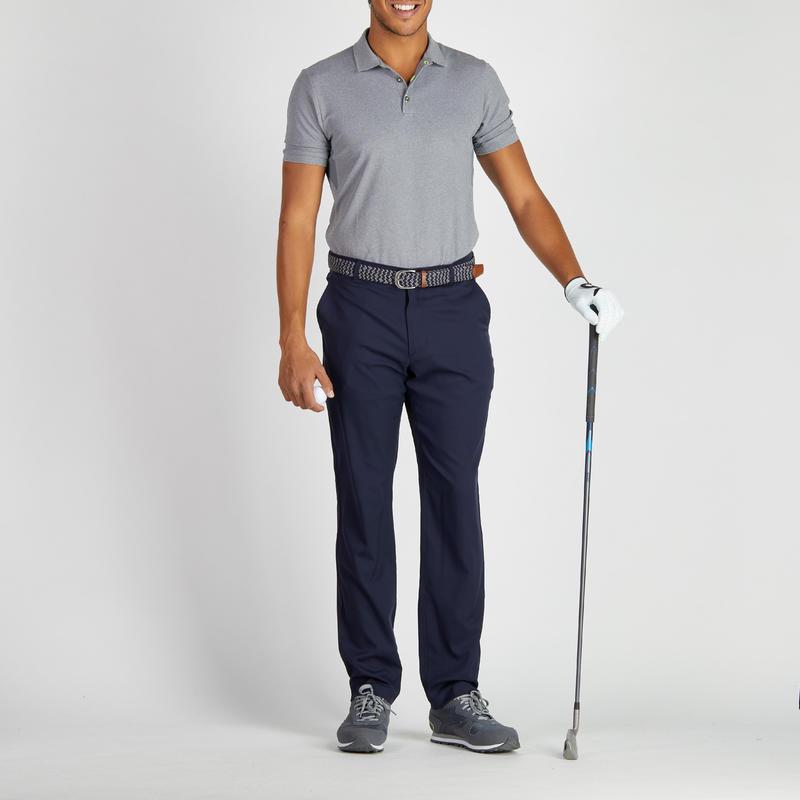Pantalón de golf hombre 900 clima caluroso azul marino