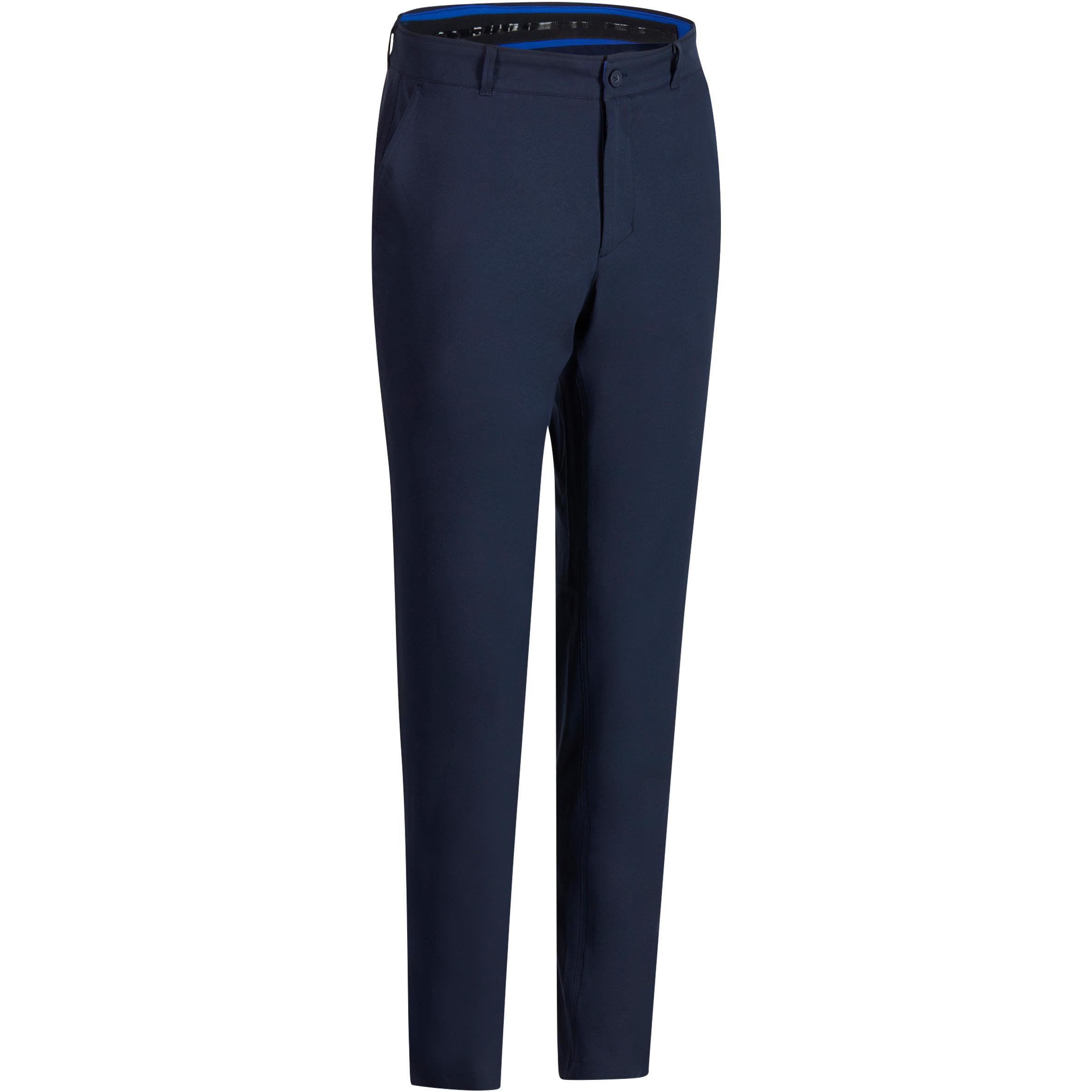 Pantalón de golf para hombre 900 - clima caluroso - azul marino