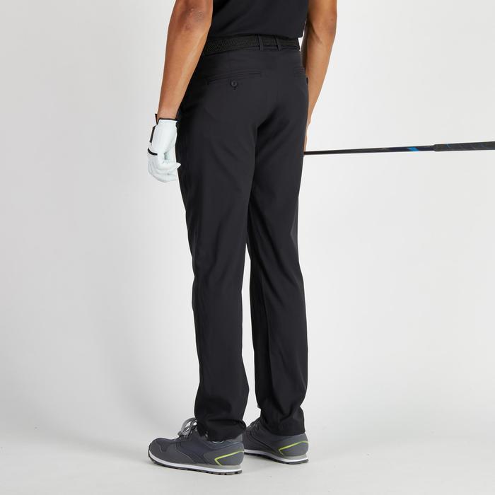 Golfbroek 900 voor heren, warm weer, zwart