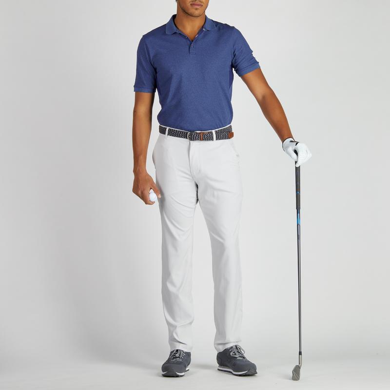 pantalon de golf homme 900 temps chaud gris clair decathlon martinique. Black Bedroom Furniture Sets. Home Design Ideas