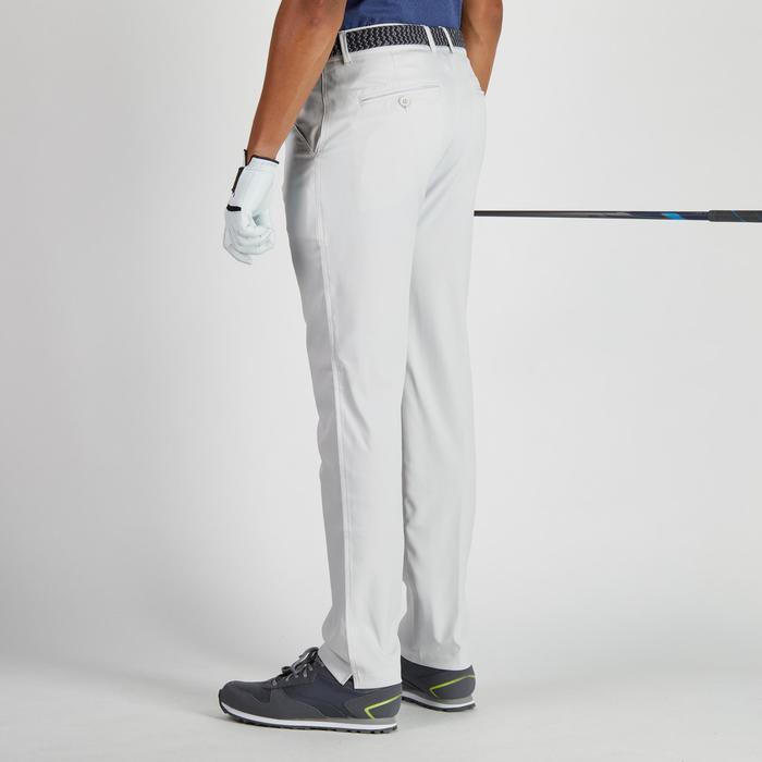 Pantalón de golf hombre 900 tiempo caluroso gris claro