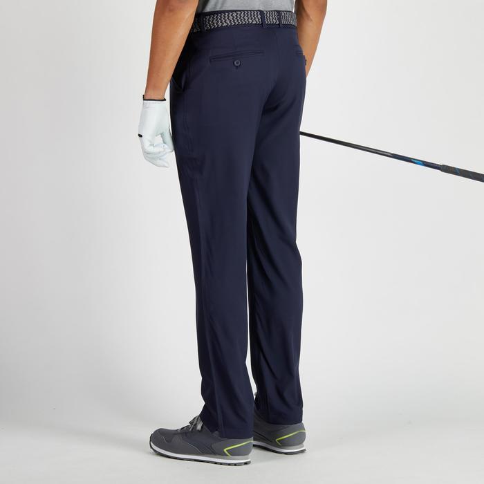 Golfbroek 900 voor heren, warm weer, marineblauw