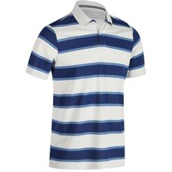 520 Men's Golf Short Sleeve Warm Weather Polo - Blue Grey Stripes