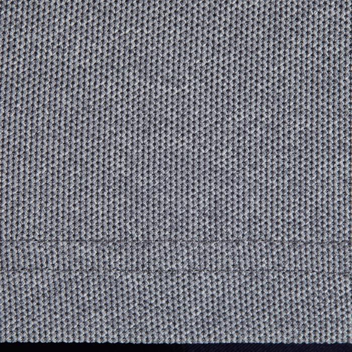 Golfpolo 900 met korte mouwen voor heren, warm weer, gemêleerd grijs