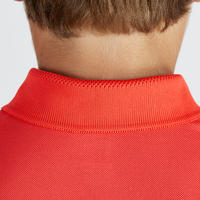 Kids' Breathable Polo Shirt Red