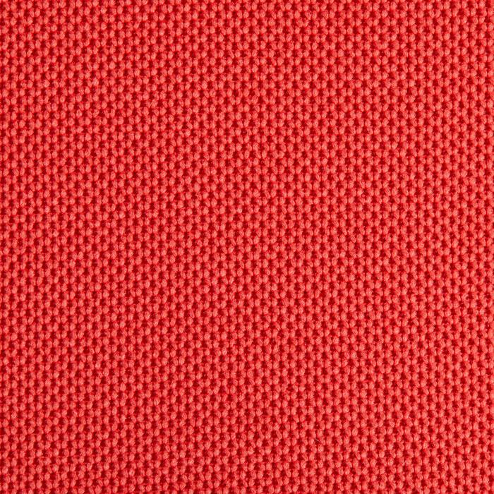 Golfpolo 900 met korte mouwen voor kinderen, warm weer, rood