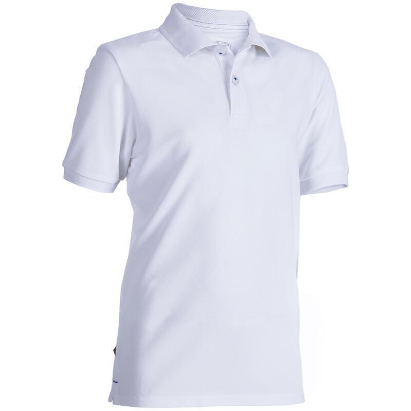 c368e18e48 Kids breathable polo shirt White