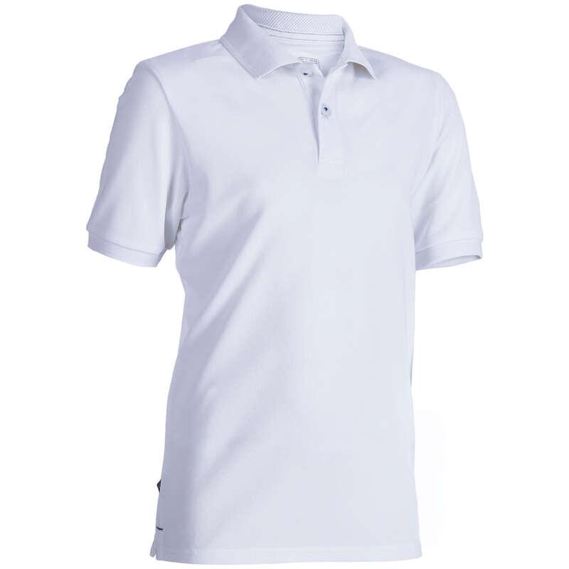 ABBIGLIAMENTO E SCARPE  GOLF JUNIOR Golf - Polo golf junior bianca INESIS - Abbigliamento e scarpe golf