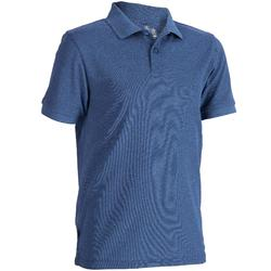 Kids breathable polo shirt Blue