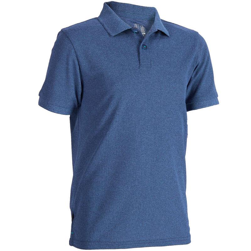 GYEREK GOLFRUHÁZAT Golf - Gyerek golfpóló, kék  INESIS - Golfruházat