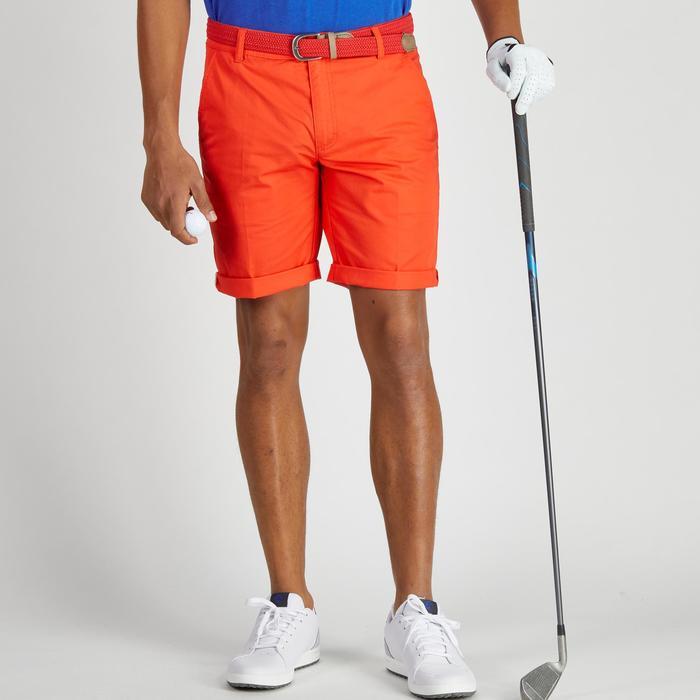 Bermuda de golf homme 500 temps tempéré marine - 1275450