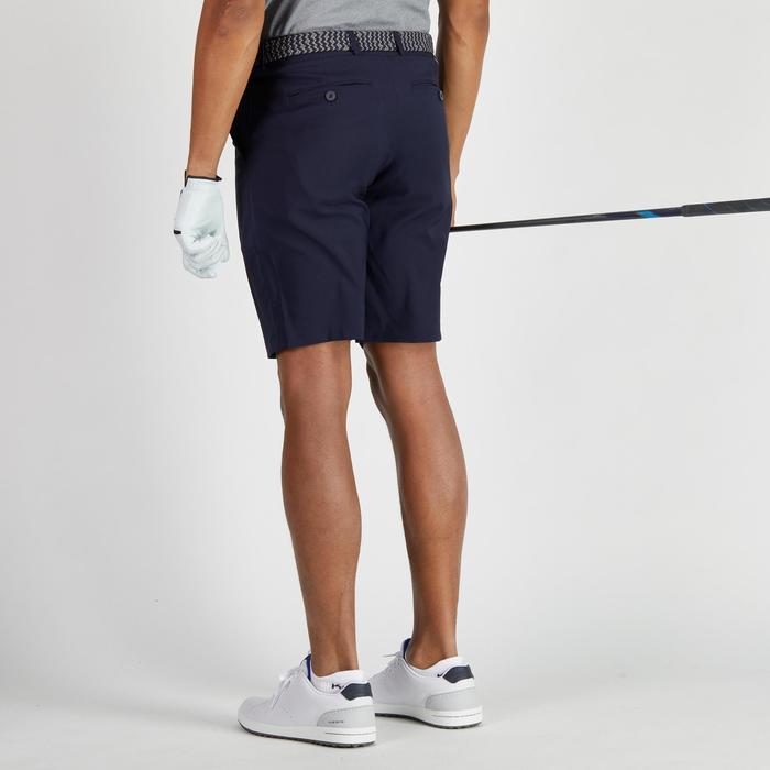 Golfbermuda 900 voor heren, warm weer, marineblauw