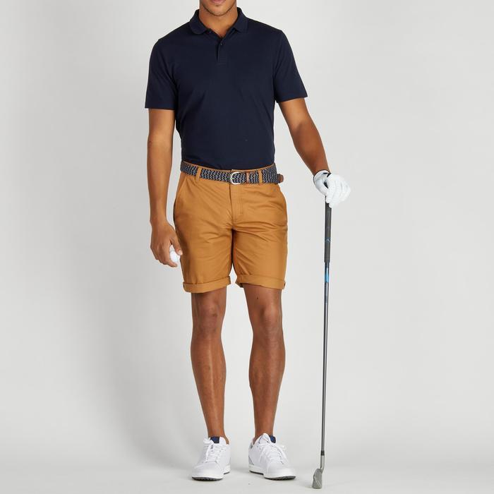 Bermuda de golf homme 500 temps tempéré marine - 1275456