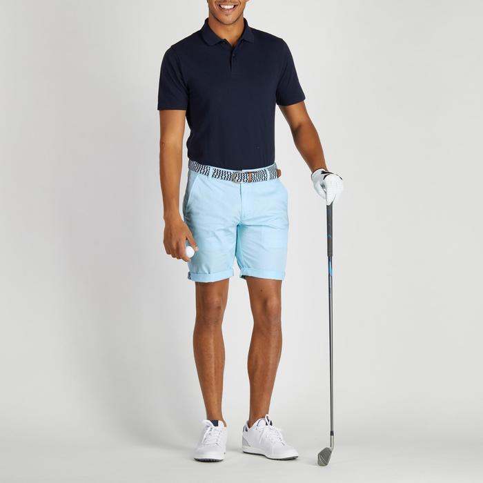 Bermuda de golf homme 500 temps tempéré marine - 1275458