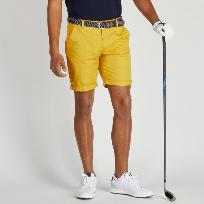 Bermuda de golf homme 500 temps tempéré marine - 1275465