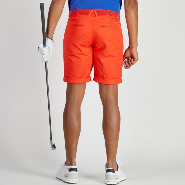 Golfbermuda 500 voor heren, zacht weer, rood