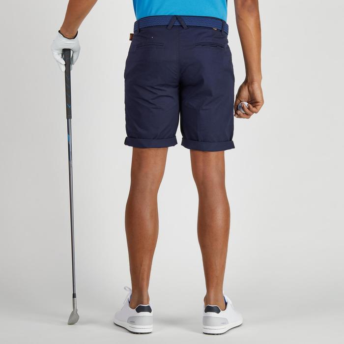 Bermuda de golf homme 500 temps tempéré marine - 1275468