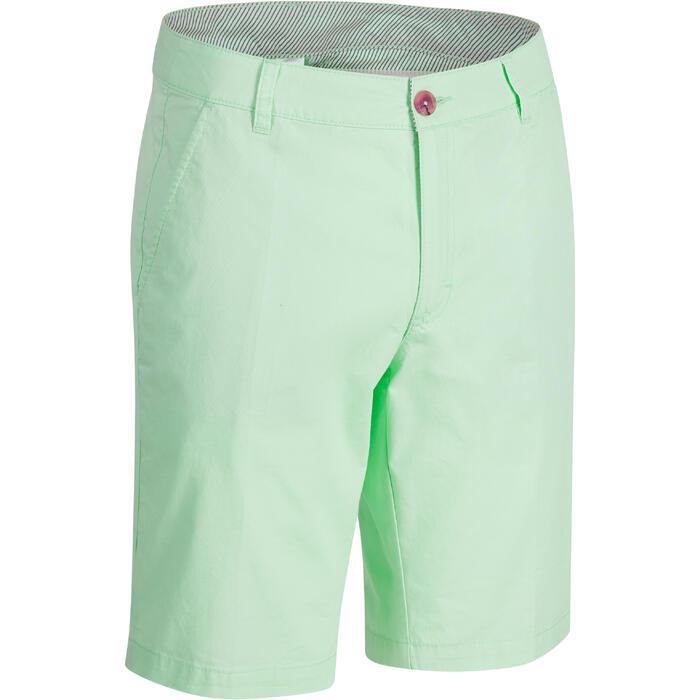 Bermuda de golf homme 500 temps tempéré marine - 1275479