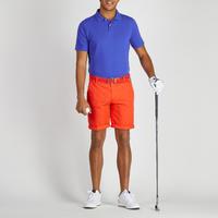 Bermudas de golf hombre 500 clima caluroso rojo