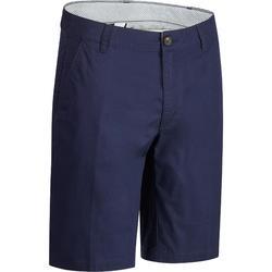 PANTALON CORTO de golf hombre 500 tiempo templado azul marino