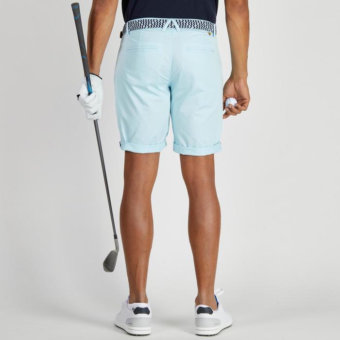 Bermuda de golf homme 500 temps tempéré marine - 1275496