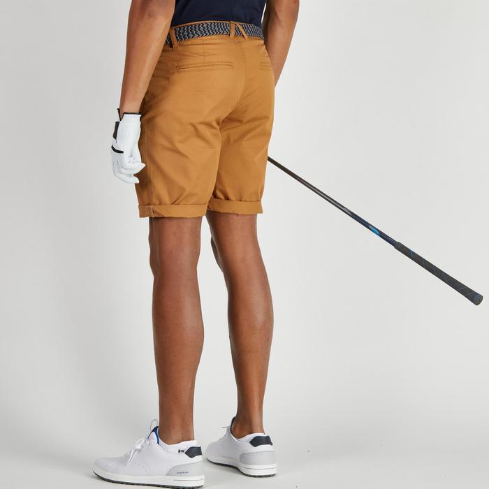 Bermudas de golf hombre 500 tiempo templado marrón