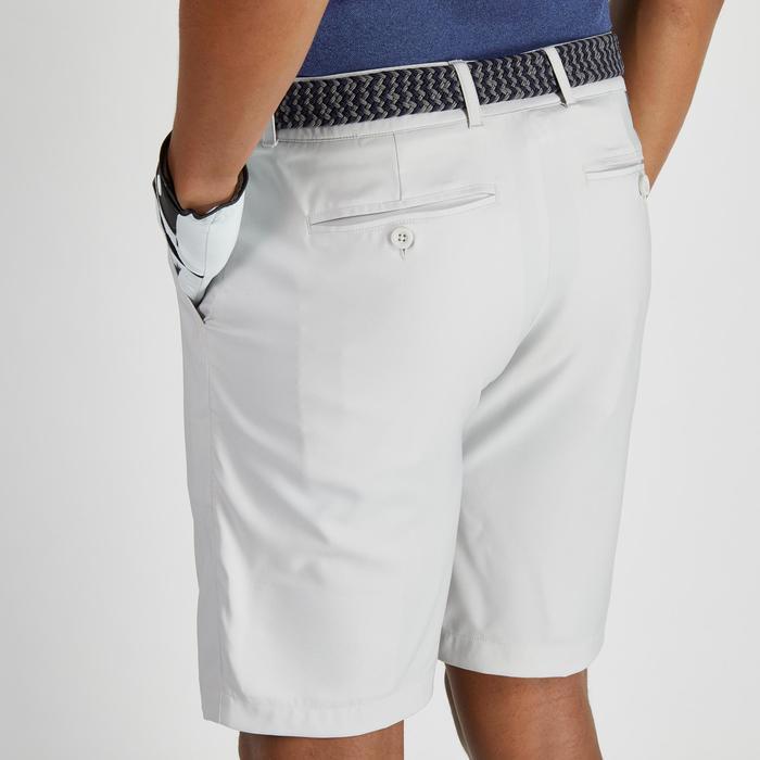 Bermuda de golf homme 900 temps chaud gris