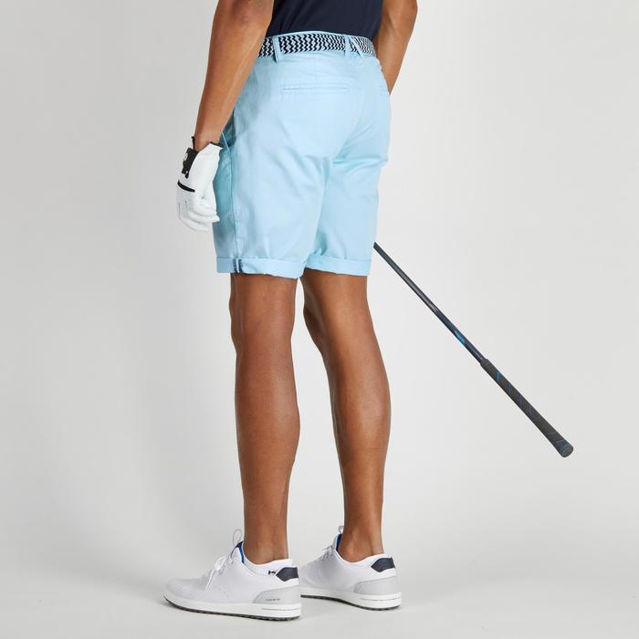 Golfbermuda 500 voor heren, zacht weer, lichtblauw