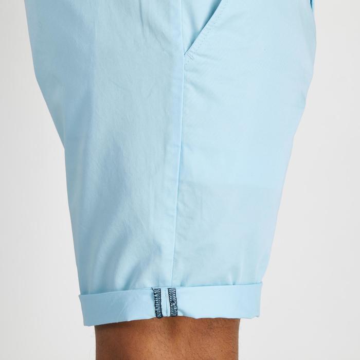 Bermudas de golf hombre 500 tiempo templado azul claro