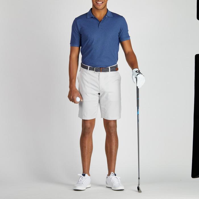 Bermudas de golf hombre 900 tiempo caluroso gris
