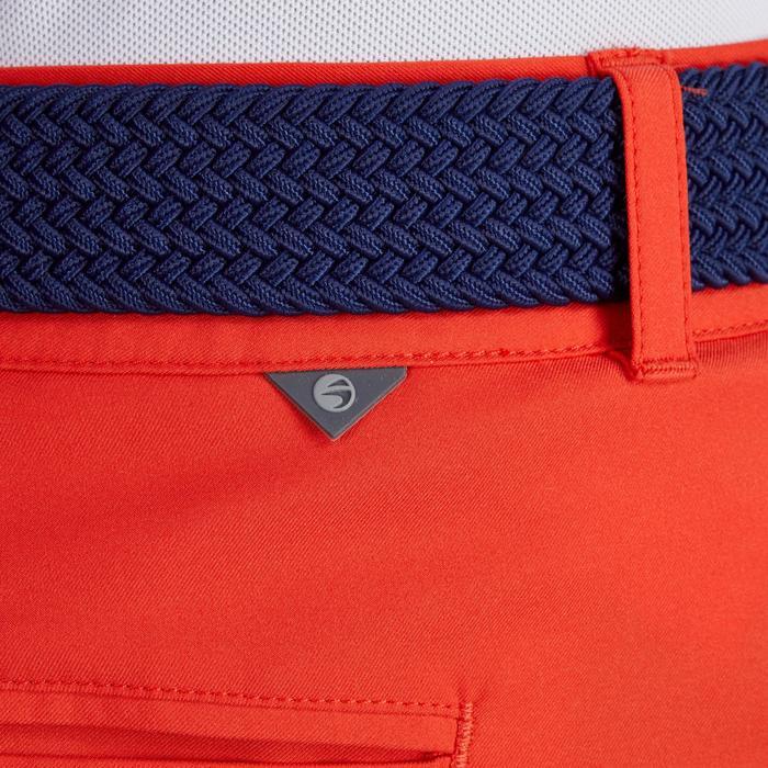 Golfbermuda 900 voor heren, warm weer, rood