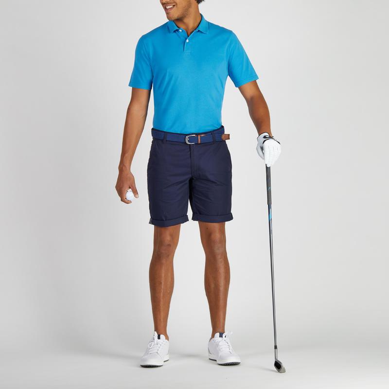 500 Men's Golf Temperate Weather Bermuda Shorts - Navy Blue
