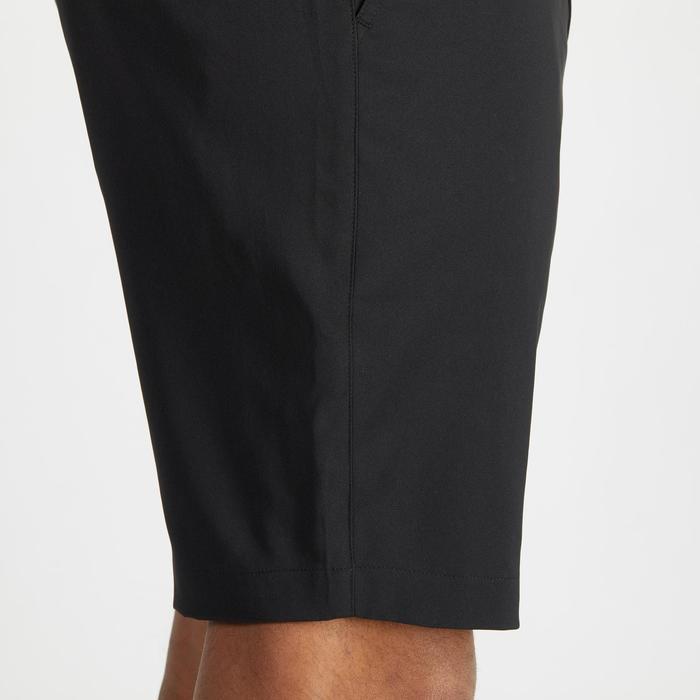 Golfbermuda 900 voor heren, warm weer, zwart