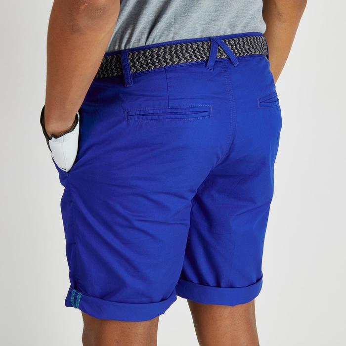 Bermudas de golf hombre 500 tiempo templado azul oscuro