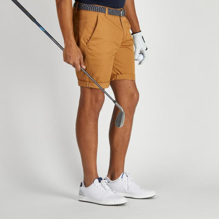 500 Men's Golf Temperate Weather Bermuda Shorts - Brown