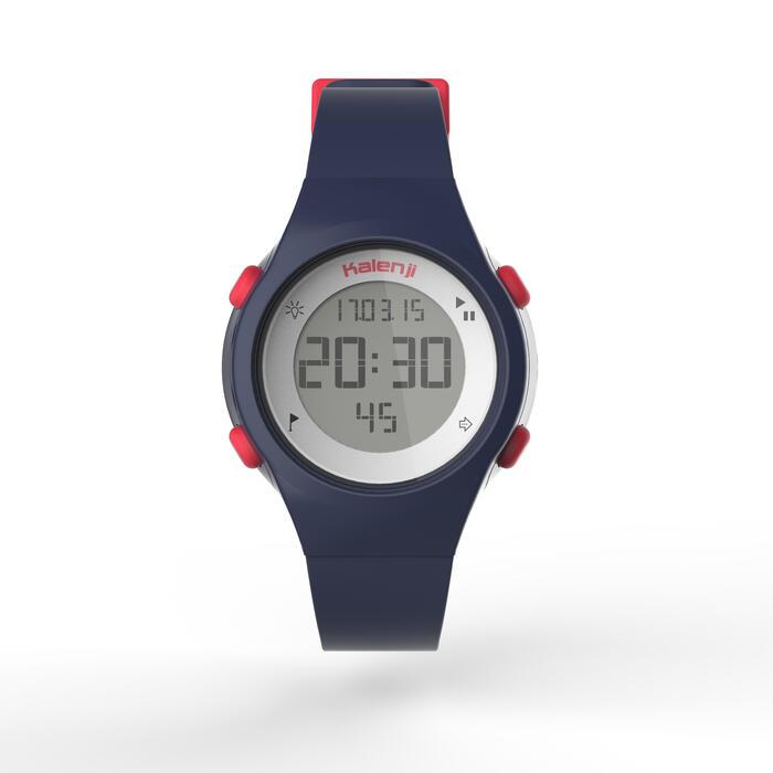 Montre chronomètre de course à pied femme W500 S NOIRE - 1275538