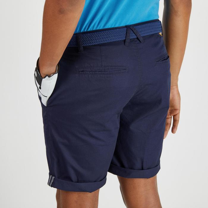 Bermuda de golf homme 500 temps tempéré marine - 1275541